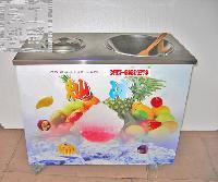 带圆锅带一冷藏桶炒冰机