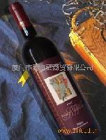 邦尼混合赤霞珠红葡萄酒精选2001招代理商