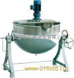 可倾带搅拌夹层锅-上海宣辰机械