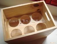 实木六支装酒盒