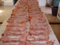 白条兔肉分割肉