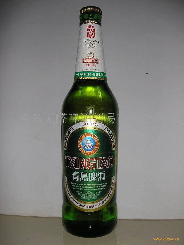 供应青岛啤酒醇厚600ml