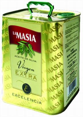 欧蕾(lamasia)特级初榨橄榄油3L