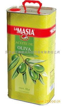 欧蕾(lamasia)特纯橄榄油 5L