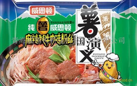 麻辣耗牛肉味粉丝