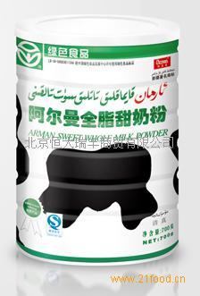 桶装全脂(甜、淡)奶粉