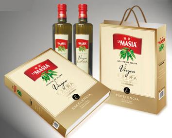 欧蕾(lamasia)橄榄油新款金礼盒