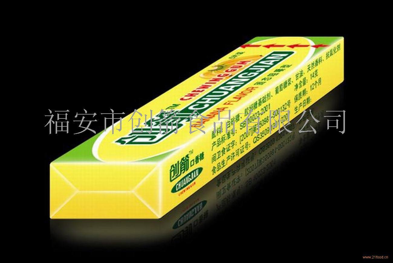 香蕉味口香糖全国招代理