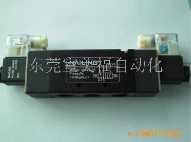 电磁阀控制气缸接线图 电磁阀与气缸接线图 气缸电磁阀接线图片