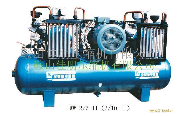 WW-2/7-II全无油润滑空压机