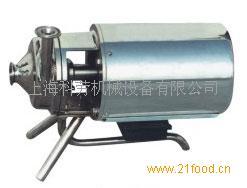 不锈钢移动式饮料泵(奶泵)