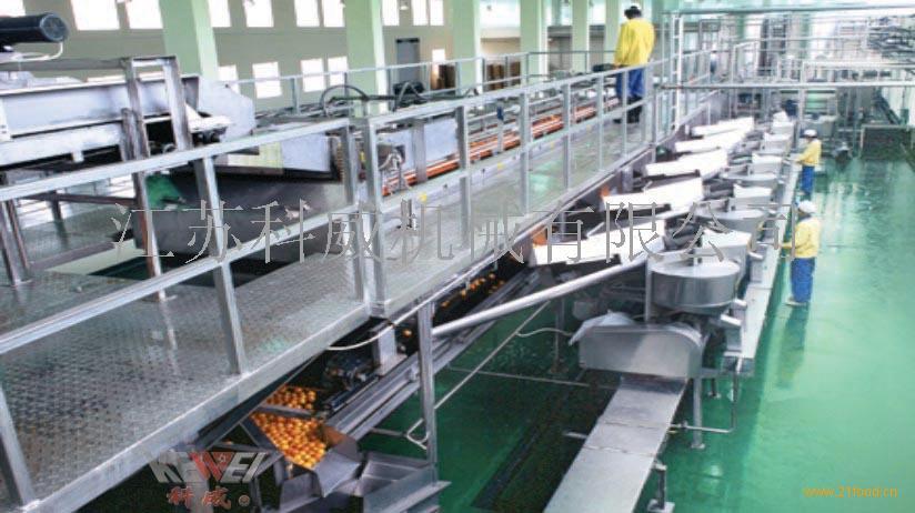 果汁饮料加工生产线