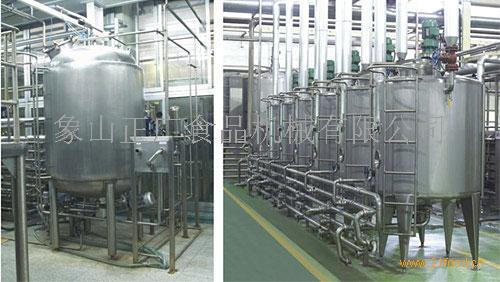 供应果汁-茶饮料生产线
